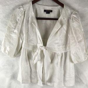 Karen Kane ART TO WEAR jacket lagenlook